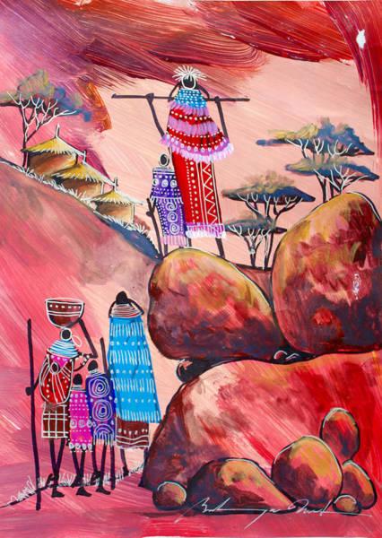 Painting - B-326 by Martin Bulinya