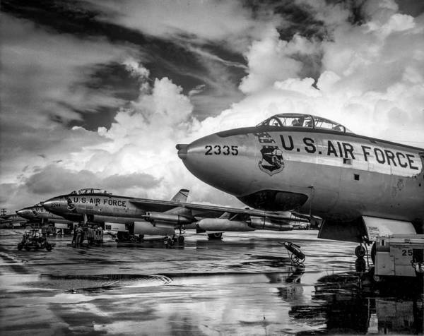 Wall Art - Photograph - B-47 Stratojet by Howard Roberts