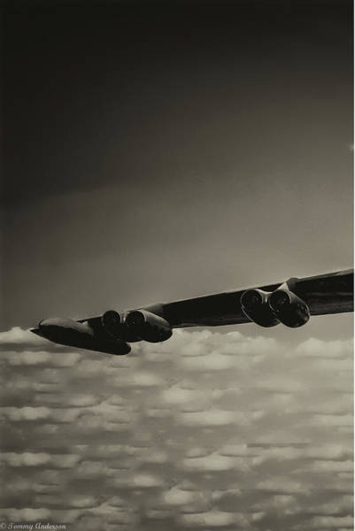 Wall Art - Photograph - B-52 Stratofortress Triptych - 1 by Tommy Anderson