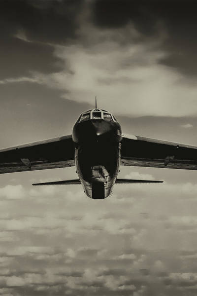 Wall Art - Photograph - B-52 Stratofortress Triptych - 2 by Tommy Anderson
