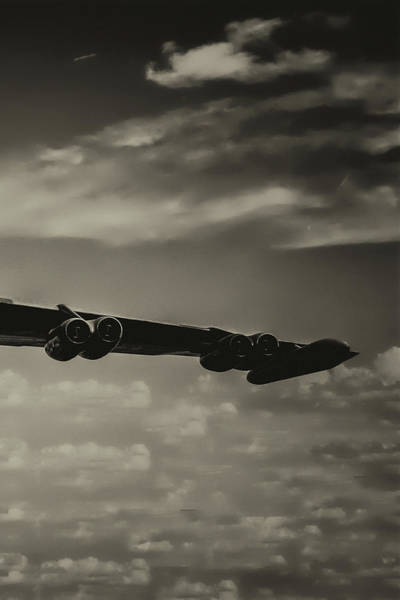 Wall Art - Photograph - B-52 Stratofortress Triptych - 3 by Tommy Anderson