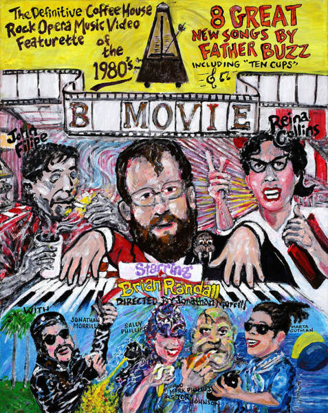 Style Painting - B Movie by Jonathan Morrill