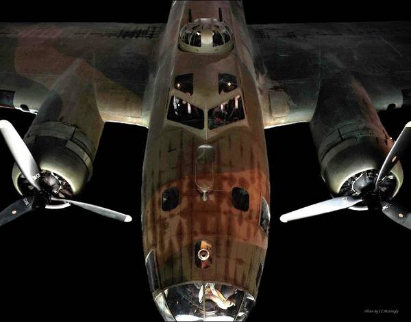 Photograph - B17 Bomber by Coleman Mattingly