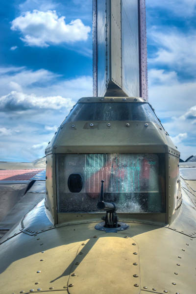Photograph - B17 Tail Gunner Position by Gary Slawsky