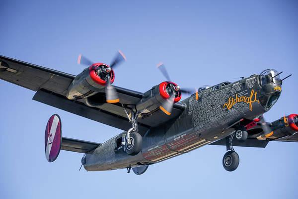 Photograph - B24 Liberator Landing At Livermore by John King