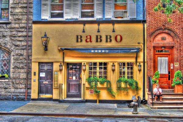 Wall Art - Photograph - Babbo Restaurant Chef Mario Batali by Randy Aveille