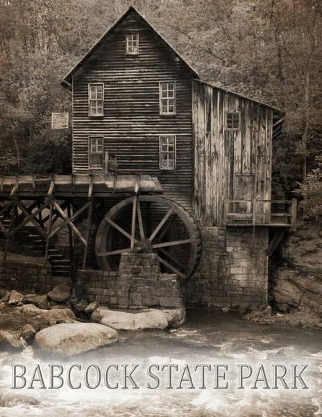 Photograph - Babcock State Park Poster by Dan Sproul