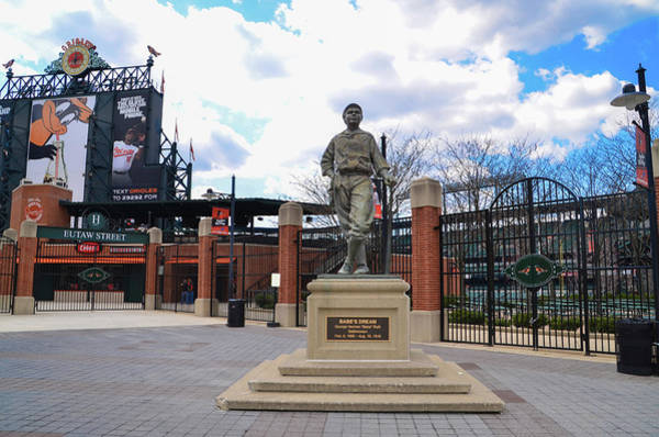 Wall Art - Photograph - Babes Dream - Camden Yards Baltimore by Bill Cannon