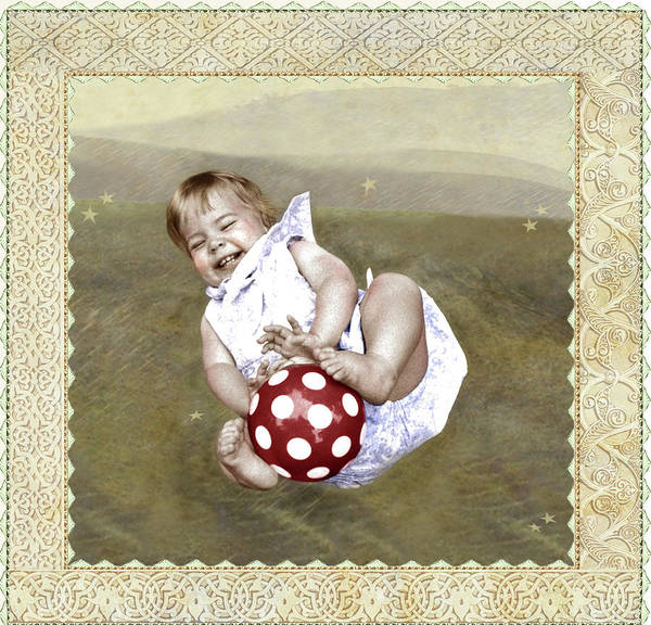Photograph - Baby Ball by Adele Aron Greenspun