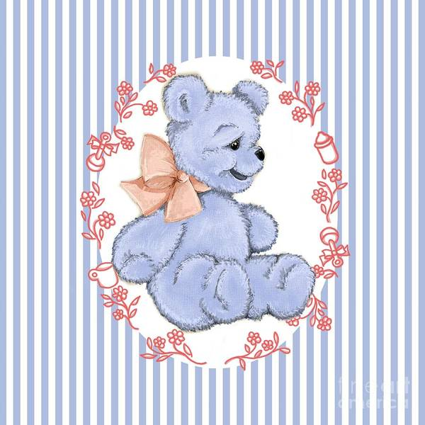 Digital Art - Baby Bear by Cindy Garber Iverson