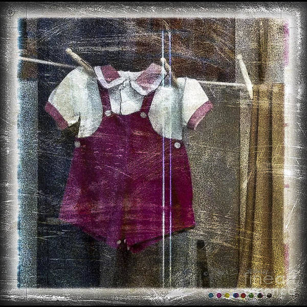Photograph - Baby Clothes On The Line by Craig J Satterlee