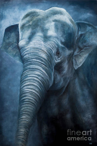 Wall Art - Painting - Sacred Blue by Julie Bond