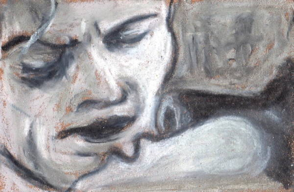 Painting - Baby I'm Crazy About Ya Noir Series by Todd  Peterson