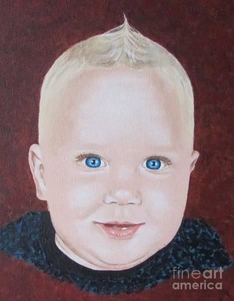 Wall Art - Painting - Baby by Jeepee Aero