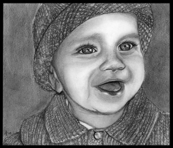 Wall Art - Drawing - Baby Mason by Alycia Ryan