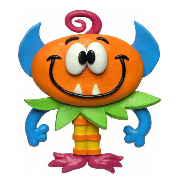 Troll Mixed Media - Baby Monster by Amy Vangsgard