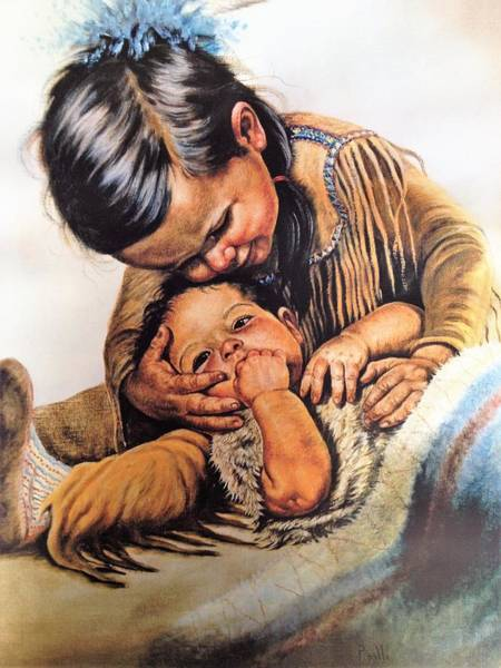 Brothers Painting - Baby Sitter by Gregory Perillo