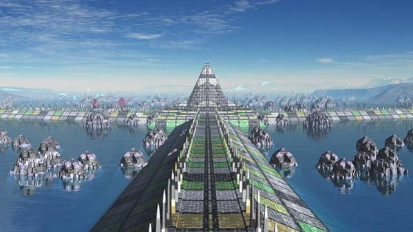 Digital Art - Babylon by Robert Thalmeier