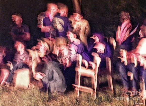 Digital Art - Bacchanalian Freak Show With Hieronymus Bosch Treatment by Lise Winne