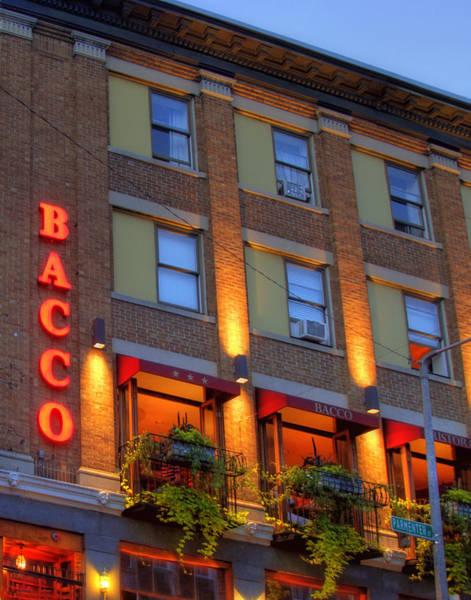 Photograph - Bacco - Boston by Joann Vitali