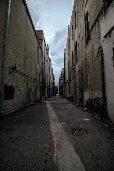 Photograph - Back Alley by Mike Dunn