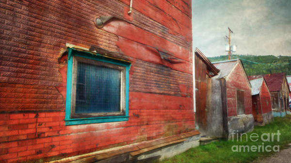 Wall Art - Photograph - Back Alley by Priska Wettstein