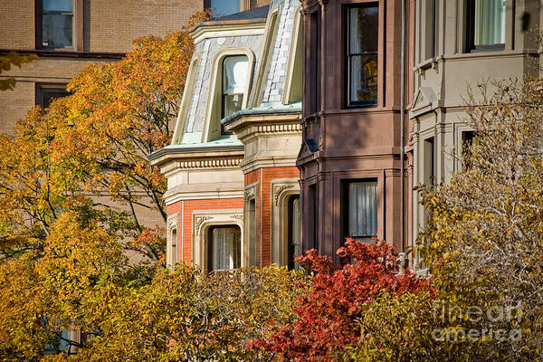 Wall Art - Photograph - Back Bay Brownstones by Susan Cole Kelly