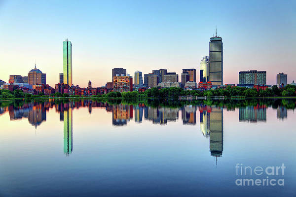 Wall Art - Photograph - Back Bay Neighborhood Of Boston by Denis Tangney Jr