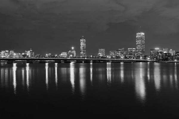 Photograph - Back Bay Skyline by Juergen Roth