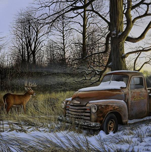 Painting - Back Forty by Anthony J Padgett