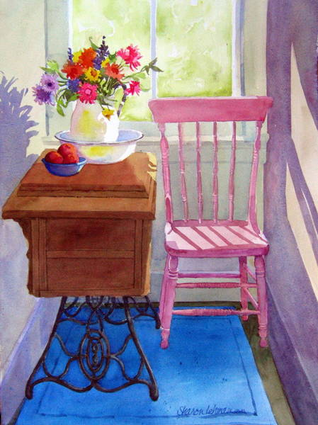 Painting - Back Hall by Sharon Lehman