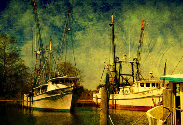 Wall Art - Photograph - Back Home In The Harbor by Susanne Van Hulst