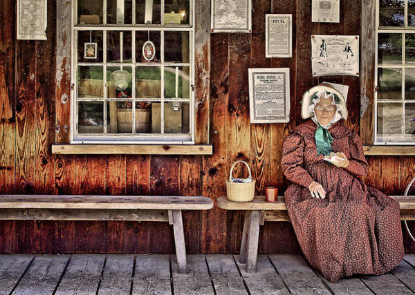 Benches Wall Art - Photograph - Back In The Days by Evelina Kremsdorf