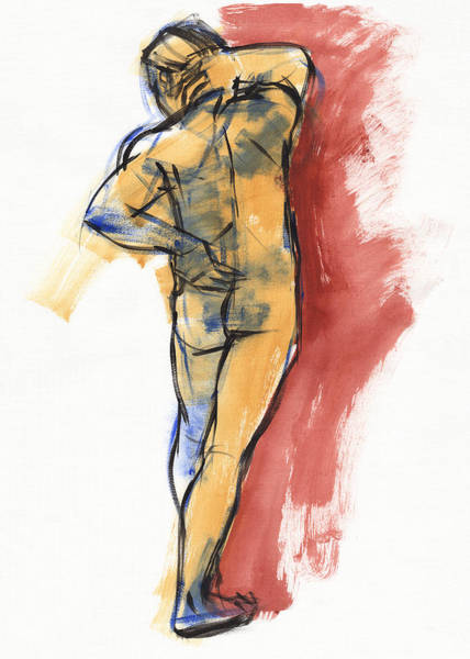 Painting - Back by Judith Kunzle