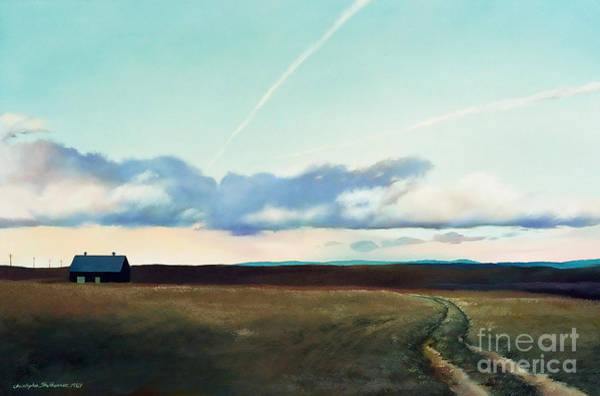 Painting - Back On The Farm by Christopher Shellhammer