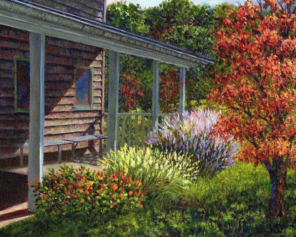 Painting - Back Porch by Susan Savad