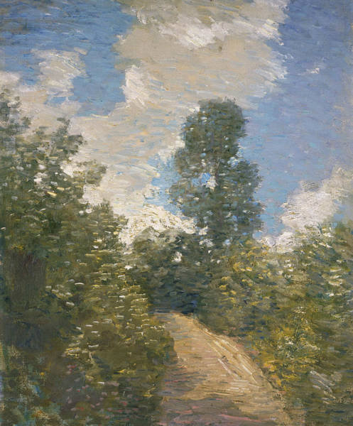 Painting - Back Road  by Julian Alden Weir