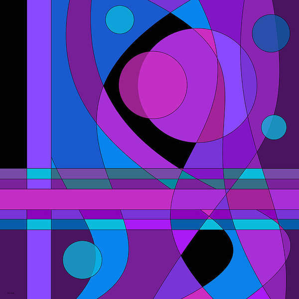 Digital Art - Back Room Blues Two by Val Arie