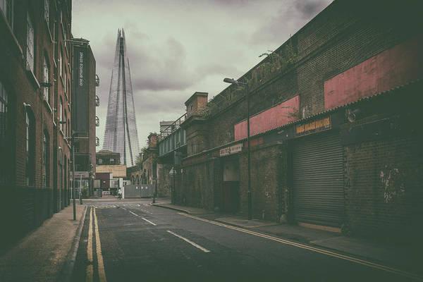 Photograph - Back-street Shard by James Billings