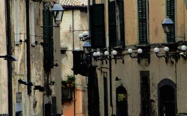 Wall Art - Photograph - Back Streets Of Orvieto Italy by Mindy Newman