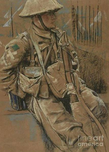 Dday Wall Art - Pastel - Back To Billets by Eric Kenington