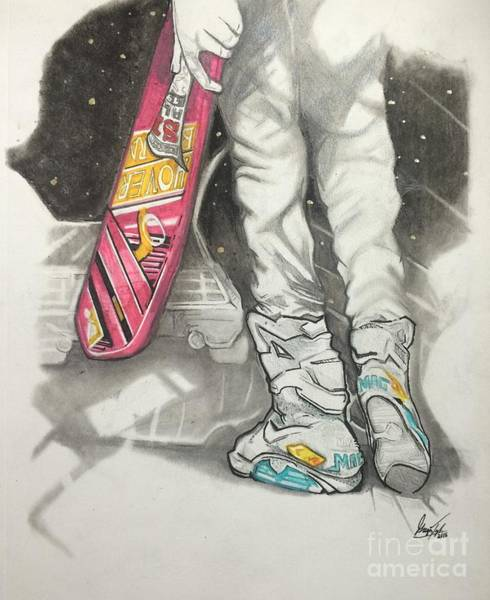 Dope Mixed Media - Back To The Future by Gregory Taylor