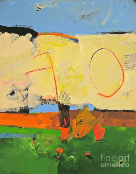 Painting - Backyard-4-garden-m- by Cliff Spohn