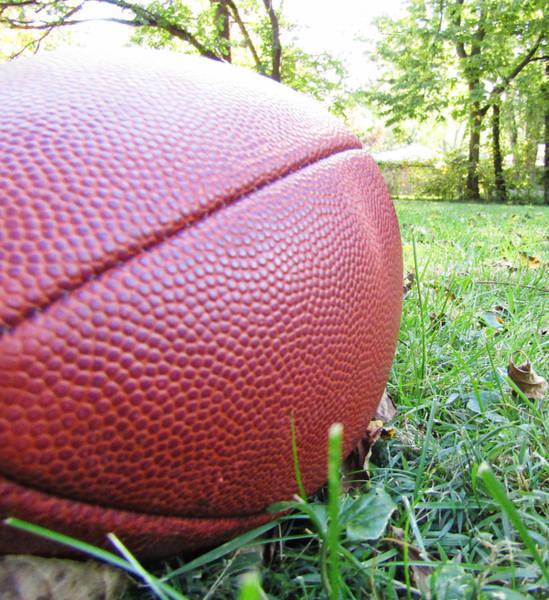 Backyard Football Art Print