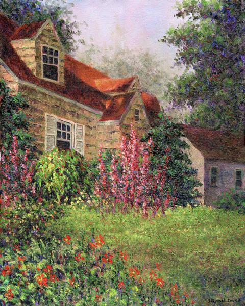 Painting - Backyard Garden by Susan Savad
