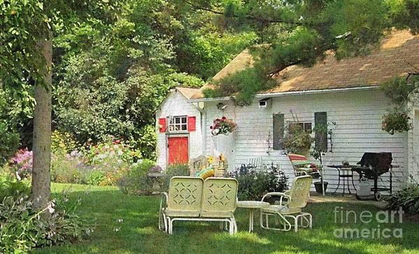 Photograph - Backyard Memories by Kathie Chicoine