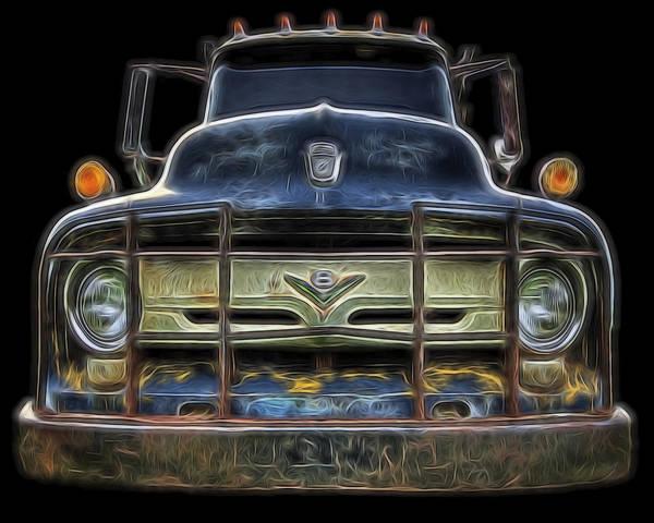 Bad 56 Ford Art Print
