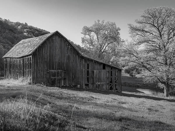Photograph - Bad Axe Barn 2 by Mark Mille