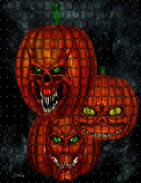 Pumkin Wall Art - Photograph - Bad Bad Pumpkins by G Berry