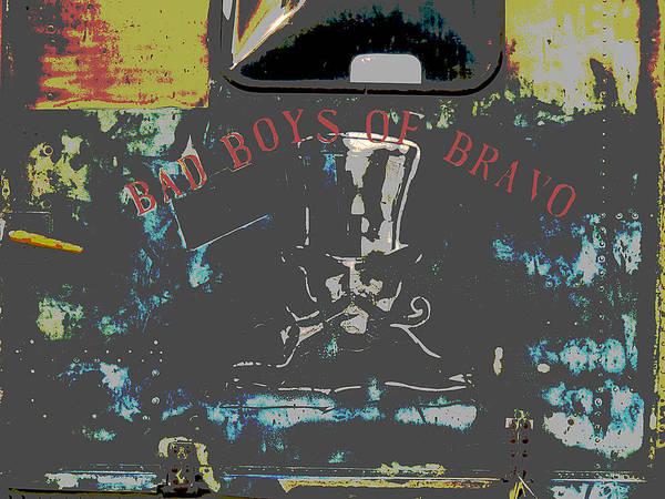 Photograph - Bad Boys Of Bravo by Richard Reeve